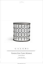 The Galeri | Side Tables and Stands